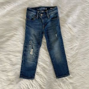 Gap jeans.